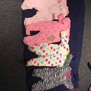 child of mine Pajamas - Fleece one piece pjs